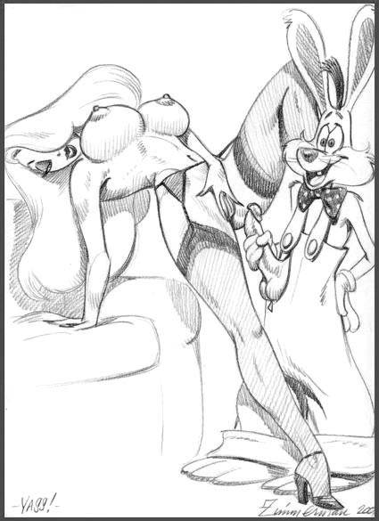 who framed roger gorilla rabbit James ironwood and glynda goodwitch