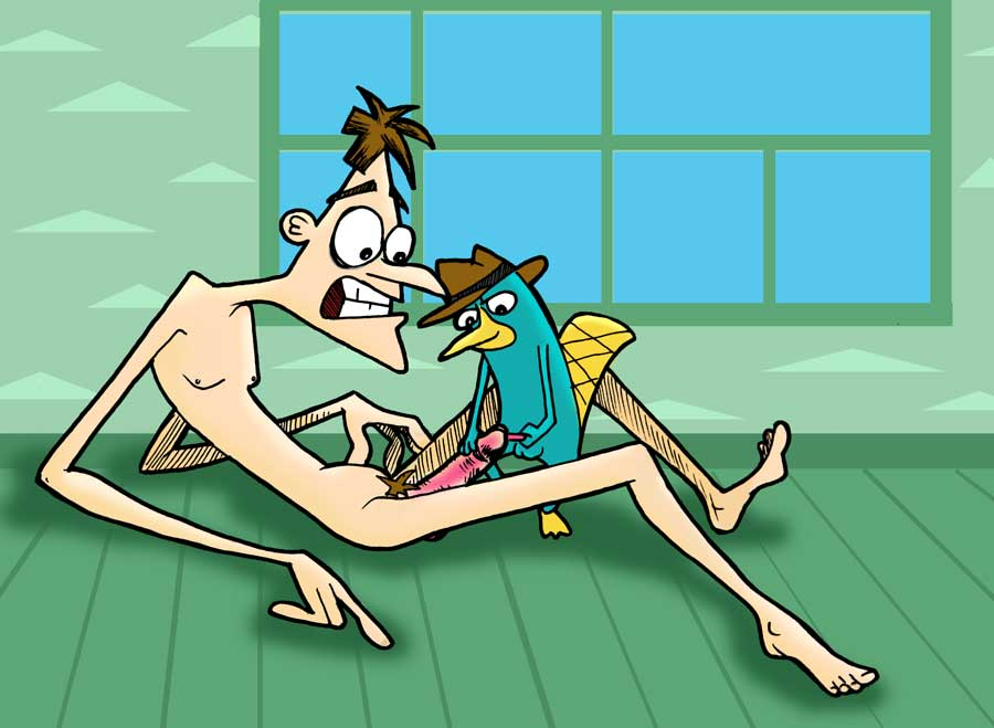 phineas ferb nude and platypus Jigokuren: love in the hell