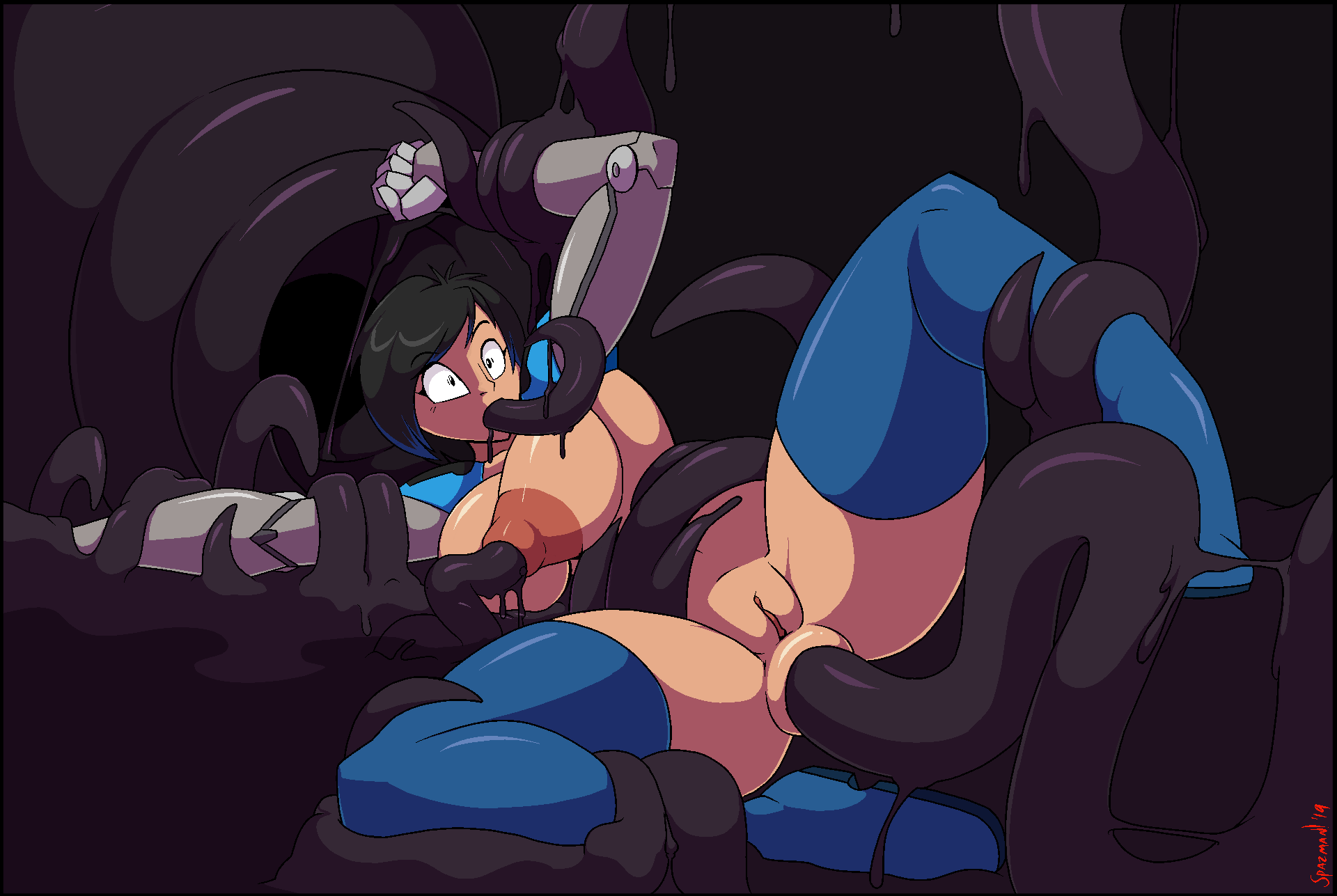 way all through tentacle the 5 nights at freddy's girl