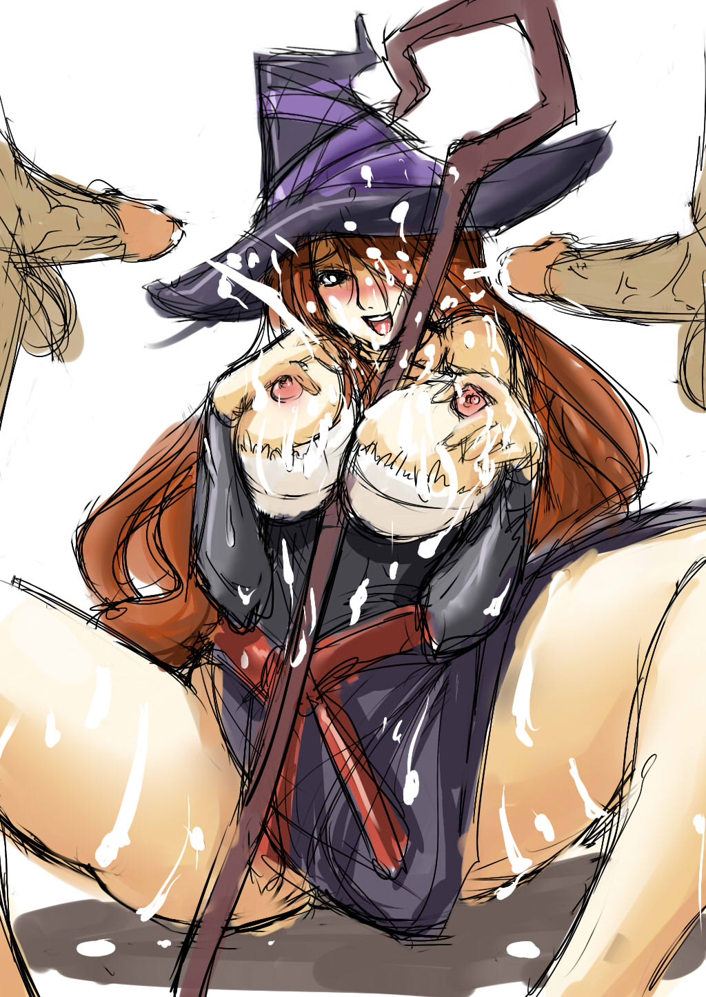 sorceress dragon's crown Cum_in_pussy