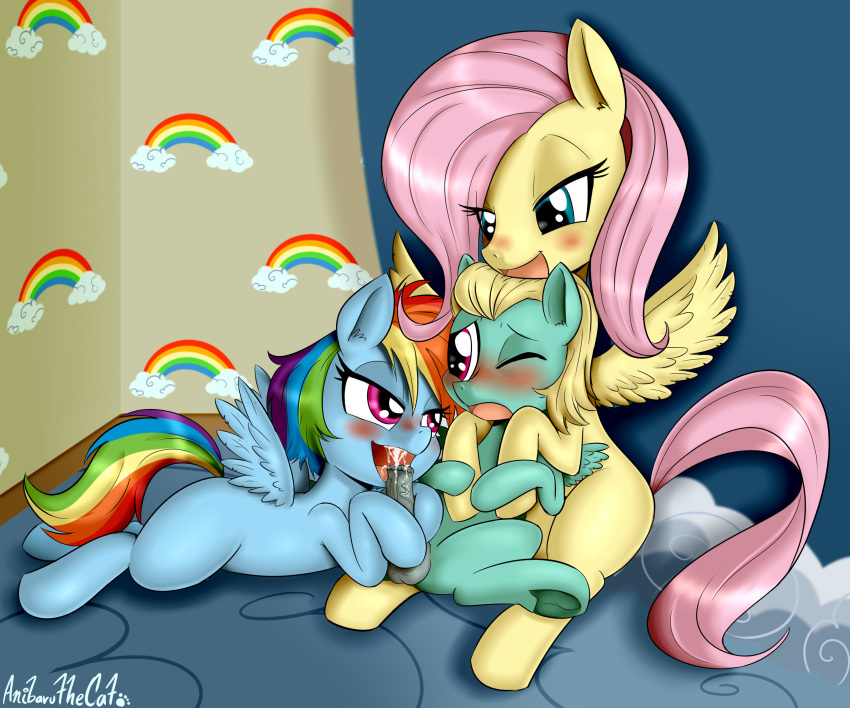 dash fluttershy mlp rainbow and Statue of liberty